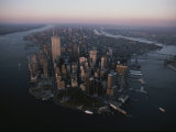 An Aerial View of the South End of Manhattan Island Photographic Print by Jodi Cobb