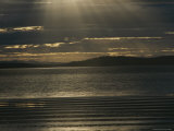 Sunlight Pierces the Clouds over the Coast of Tasmania Photographic Print by Sam Abell