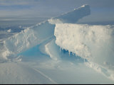 Slabs of Antarctic Ice Photographic Print by Maria Stenzel
