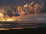 Twilight View of Pacific Ocean from Oregon Coast Photographic Print by Sam Abell