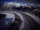 Overview of the 45-Mile-Long Kaskawulsh Glacier Photographic Print by Sam Abell