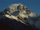 Mount Everest as Seen from Pang La Pass Photographic Print by Maria Stenzel