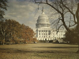 View of the Capitol Building Photographic Print by Charles Martin
