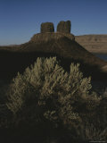 Two Sisters Buttes Landmark Photographic Print by Sam Abell