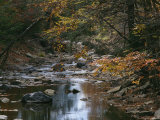 Autumnal View of This Picturesque River Photographic Print by Bates Littlehales