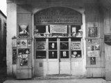 View of the Front of a Neighborhood Drugstore in Cyprus Photographic Print