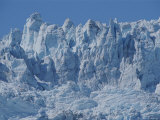 A View of Ice Seracs on Holgate Glacier Photographic Print