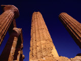 The Greek Temple to Juno in Agrigento, Sicily Photographic Print by Todd Gipstein