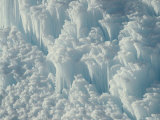 Ice Detail, Yellowstone National Park, Wyoming Photographic Print by Raymond Gehman