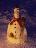 Snowman Photographic Print by Sisse Brimberg