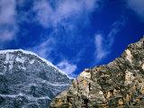 Rocky Ridges and Blue Sky Fotografie-Druck von Pablo Corral Vega