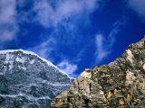 Rocky Ridges and Blue Sky Photographic Print by Pablo Corral Vega