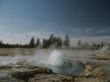 Hot Spring in Lower Geyser Basin Photographic Print by Norbert Rosing