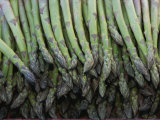 Asparagus at a Market in Provence Fotoprint van Nicole Duplaix