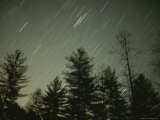 Star Streaks over the Nantahala National Forest Photographic Print by Stephen Alvarez