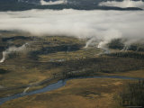 Lower Geyser Basin Valley, Yellowstone National Park Photographic Print by Norbert Rosing