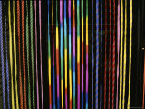 Colorful Strings in a Shop in Manila Photographic Print by Wolcott Henry