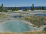 Hot Pools at West Thumb Geyser Basin, Yellowstone National Park Photographic Print by Norbert Rosing