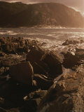 A Twilight View of Tsitsikamma National Parks Rocky Coastline Photographic Print by Tino Soriano