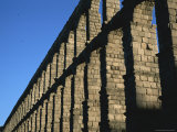 The Roman-Built Aqueduct in Segovia, Spain Photographic Print