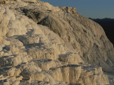 Terraces of Travertine, Canary Spring, Mammoth Hot Springs Photographic Print by Norbert Rosing