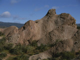 A Section of Vasquez Rocks That Has Appeared in Many Western Movies Photographic Print by Stephen St. John