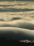 Aerial of Clouds Above a Forest Photographic Print by Mattias Klum