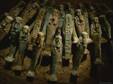 Ushabti were Left in Tombs to Provide Labor in the Afterlife Photographic Print by Kenneth Garrett