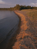 A Beach in the Apostle Islands Photographic Print