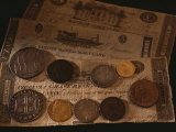 Money Used in the United States after the Revolutionary War Photographic Print by Kenneth Garrett