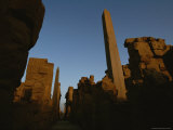 A View of Ruins at Luxor Photographic Print by Kenneth Garrett