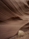 Beautiful Swirls Caused by Rushing Water Through Soft Sandstone Fotografisk tryk af Paul Chesley