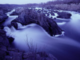 Potomac River Rapids and Large Rocks Photographic Print by Karen Kasmauski