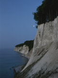 Scenic Twilight View of White Cliffs Photographic Print by Norbert Rosing