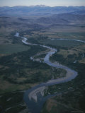 Aerial View of a Winding River Photographic Print by Sam Abell