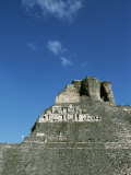 Pre-Columbian Stone Ruin, Belize Photographic Print by Barry Tessman