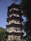 One of the Twin Kaiyuan Temple Pagodas Rises More Than 158 Feet Photographic Print by Dean Conger