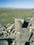 Jornada Mogollon Petroglyph, 5000 BC-900 Ad Photographic Print by Rich Reid