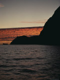 A Twilight View of Guadalupe Island, Mexico Photographic Print by Brian J. Skerry