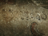 A Detail of the Earliest Mayan Inscription Ever Found Photographic Print by Kenneth Garrett