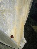 Escalador en El Capitán, Yosemite, California Lámina fotográfica por Chin, Jimmy