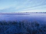 The Platte River in Central Nebraska Fotografie-Druck von Joel Sartore