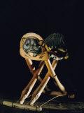 Tutankhamuns Ivory Headrest Photographic Print by Kenneth Garrett