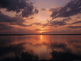 A Sunset in Los Llanos, Venezuela Photographic Print by Ed George