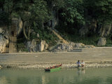 Shrine at Elephant Trunk Hill on Li River, Guilin, Guangxi, China Photographic Print by Raymond Gehman