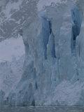 Calving Ice Front of Rudolf Glacier Above Neko Harbor Photographic Print