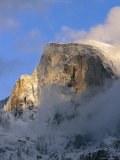 A Wintry View of Half Dome Mountain Photographic Print by Marc Moritsch