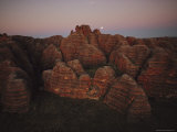 Twilight View of the Sandstone Beehive Domes of Bungle Bungle Range Photographic Print by Sam Abell