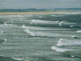 Surf at the North End of Lindisfarne, England Photographic Print by Sisse Brimberg