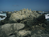 Rocks on the California Coast Near Pacific Grove Photographic Print by Charles Kogod